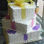 Торт в виде коробки_9