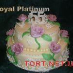 Торт на Юбилей 2 яруса_10