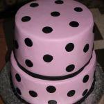 Торт на Юбилей 2 яруса_11