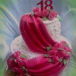 Торт на Юбилей 2 яруса_14