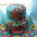 Торт на Юбилей 2 яруса_17