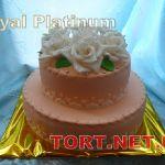 Торт на Юбилей 2 яруса_1