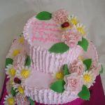 Торт на Юбилей 2 яруса_21
