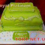 Торт на Юбилей 2 яруса_2
