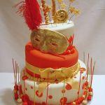 Торт на Юбилей 3 яруса_11