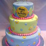 Торт на Юбилей 3 яруса_14