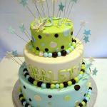 Торт на Юбилей 3 яруса_15
