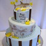 Торт на Юбилей 3 яруса_16
