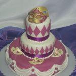 Торт на Юбилей 3 яруса_2