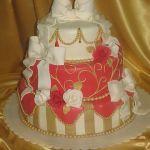 Торт на Юбилей 3 яруса_3