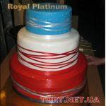 Торт на Юбилей 3 яруса_6