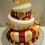 Торт на Юбилей 3 яруса_7