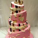 Торт на Юбилей 4 яруса_12