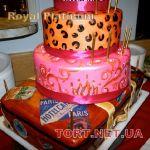 Торт на Юбилей 4 яруса_14
