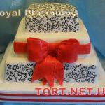 Торт на Юбилей 4 яруса_2