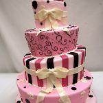 Торт на Юбилей 4 яруса_4
