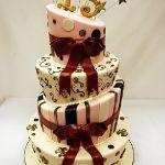 Торт на Юбилей 4 яруса_5