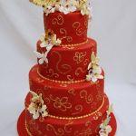 Торт на Юбилей 4 яруса_9