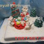 Зимний торт на Новый год_11