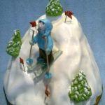 Зимний торт на Новый год_13