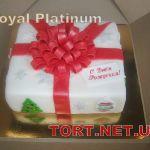 Зимний торт на Новый год_17
