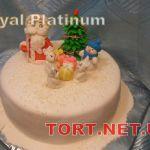 Зимний торт на Новый год_1