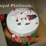 Зимний торт на Новый год_20