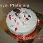 Зимний торт на Новый год_21
