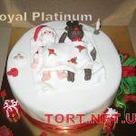 Зимний торт на Новый год_22