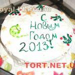 Зимний торт на Новый год_2