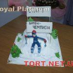 Зимний торт на Новый год_3
