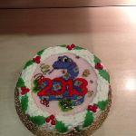 Зимний торт на Новый год_6
