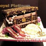 Торт Louis Vuitton_17
