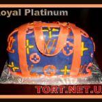 Торт Louis Vuitton_4