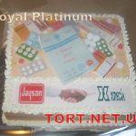 Торт на День врача_5