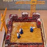 Торт на День строителя_1