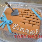 Торт на День строителя_7