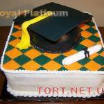 Торт на День студента_2