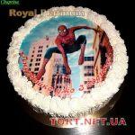 Торт Человек-паук (Spider-Man)_11