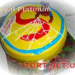 Торт Человек-паук (Spider-Man)_12