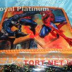 Торт Человек-паук (Spider-Man)_17