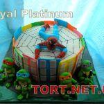 Торт Человек-паук (Spider-Man)_1