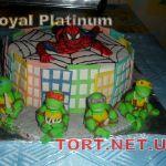 Торт Человек-паук (Spider-Man)_2