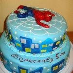 Торт Человек-паук (Spider-Man)_49