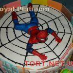 Торт Человек-паук (Spider-Man)_4