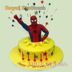 Торт Человек-паук (Spider-Man)_50