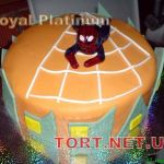 Торт Человек-паук (Spider-Man)_55