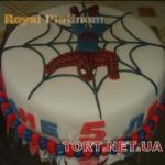 Торт Человек-паук (Spider-Man)_61