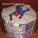 Торт Человек-паук (Spider-Man)_63
