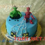 Торт Человек-паук (Spider-Man)_9